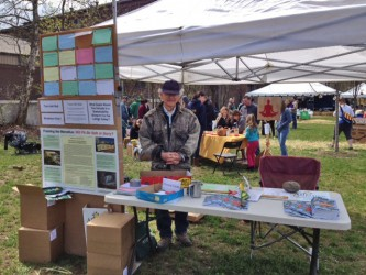 the Alliance table at Earth Days on the Greenway 2013